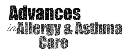 ADVANCES IN ALLERGY & ASTHMA CARE