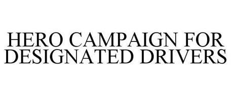 HERO CAMPAIGN FOR DESIGNATED DRIVERS