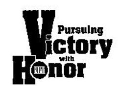 pursuing victory with honor essay Study questions & essay topics it is the source of our honor-loving and victory-loving desires take the important terms quick quiz.