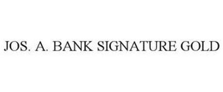 JOS. A. BANK SIGNATURE GOLD