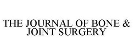 THE JOURNAL OF BONE & JOINT SURGERY