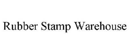 RUBBER STAMP WAREHOUSE Trademark of The J.P. Cooke Company ...