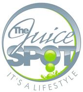 THE JUICE SPOT IT'S A LIFESTYLE