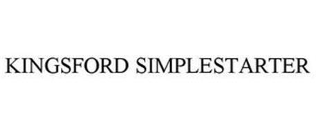 KINGSFORD SIMPLESTARTER