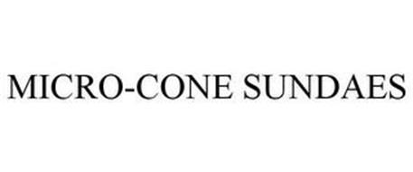 MICRO-CONE SUNDAES