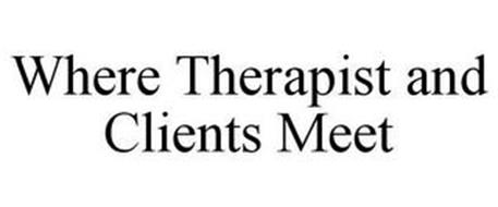 WHERE THERAPISTS AND CLIENTS MEET