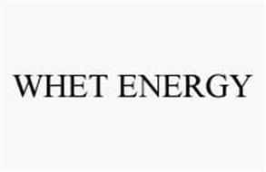 WHET ENERGY