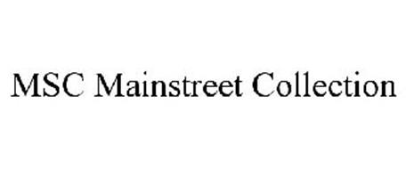 MSC MAINSTREET COLLECTION