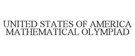 UNITED STATES OF AMERICA MATHEMATICAL OLYMPIAD