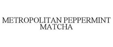 METROPOLITAN PEPPERMINT MATCHA