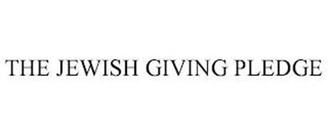 THE JEWISH GIVING PLEDGE