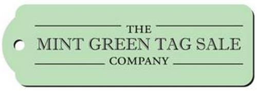 THE MINT GREEN TAG SALE COMPANY