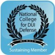 NATIONAL COLLEGE FOR DUI DEFENSE MCMXCVSUSTAINING MEMBER