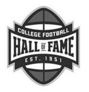 COLLEGE FOOTBALL HALL OF FAME EST. 1951