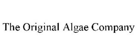 THE ORIGINAL ALGAE COMPANY