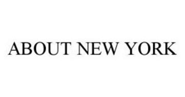 ABOUT NEW YORK