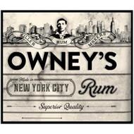 OWNEY'S MADE IN NEW YORK CITY RUM SUPERIOR QUALITY KILLER RUM MAKERS