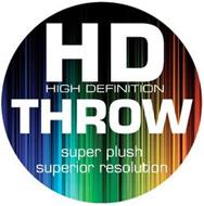 HD HIGH DEFINITION THROW SUPER PLUSH SUPERIOR RESOLUTION