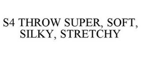 S4 THROW SUPER, SOFT, SILKY, STRETCHY