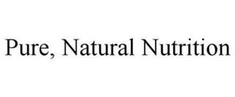 PURE, NATURAL NUTRITION