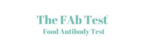 THE FAB TEST FOOD ANTIBODY TEST
