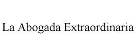 LA ABOGADA EXTRAORDINARIA