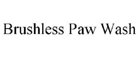 BRUSHLESS PAW WASH
