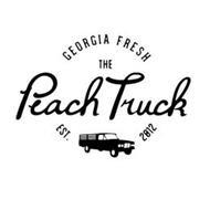 GEORGIA FRESH THE PEACH TRUCK EST. 2012