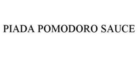 PIADA POMODORO SAUCE