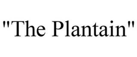 """THE PLANTAIN"""