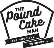 THE POUND CAKE MAN YES, YOU HAVE TO SHARE...