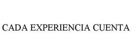 CADA EXPERIENCIA CUENTA