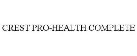 CREST PRO-HEALTH COMPLETE