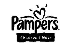 PAMPERS. CHILDREN'S WEAR