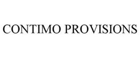 CONTIMO PROVISIONS