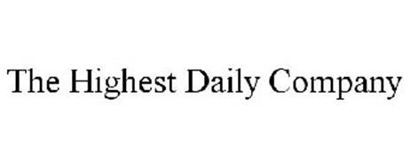 THE HIGHEST DAILY COMPANY