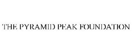 THE PYRAMID PEAK FOUNDATION Trademark of The Pyramid Peak