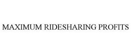MAXIMUM RIDESHARING PROFITS