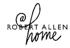 ROBERT ALLEN @ HOME