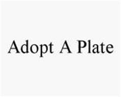 ADOPT A PLATE