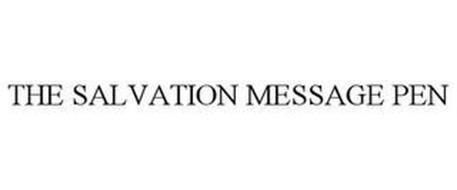 THE SALVATION MESSAGE PEN