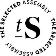 TS THE SELECTED ASSEMBLY THE SELECTED ASSEMBLY