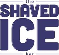 THE SHAVED ICE BAR