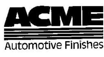 ACME AUTOMOTIVE FINISHES