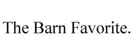 THE BARN FAVORITE.