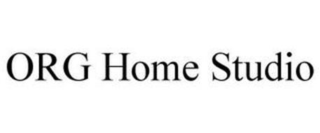 ORG HOME STUDIO