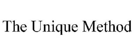 THE UNIQUE METHOD