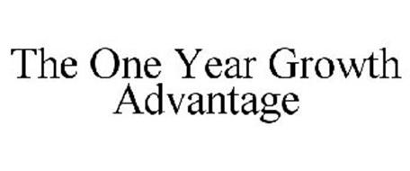 THE ONE YEAR GROWTH ADVANTAGE