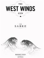 THE WEST WINDS GIN THE SABRE MARGARET RIVER AUSTRALIA