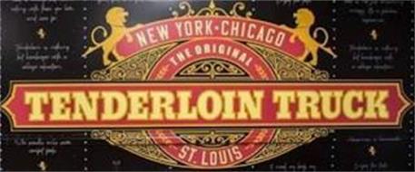 THE ORIGINAL TENDERLOIN TRUCK SAINT LOUIS NEW YORK · CHICAGO